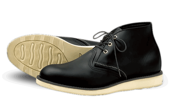Red Wing 3148 Work Chukka Black