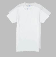 Velva Sheen 2Pac Pocket Tee White