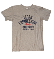Velva Sheen Japan Engineering Tee Gray