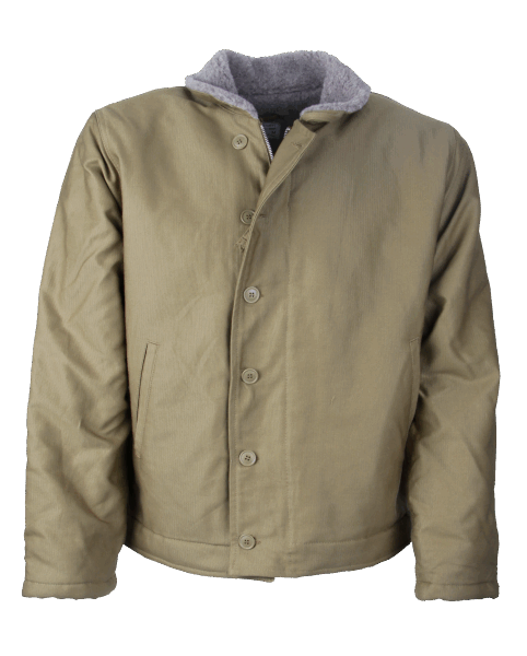 Pike Brothers 1944 N1-Deck Jacket Khaki