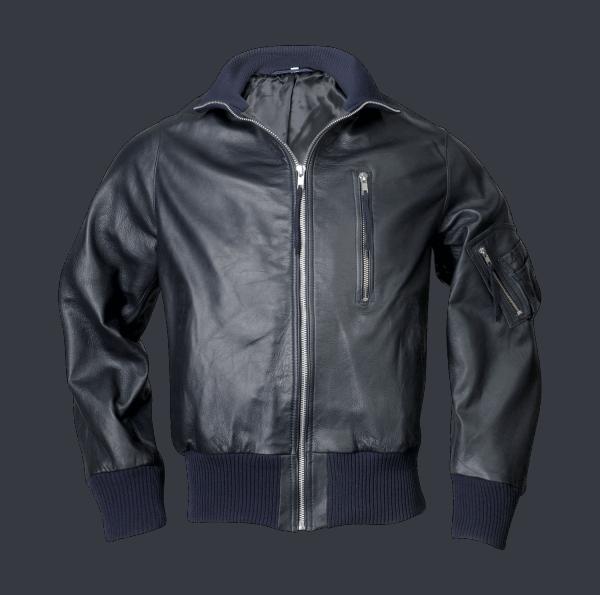 Modeka BW-Jacke, ohne Schubtasche - marine