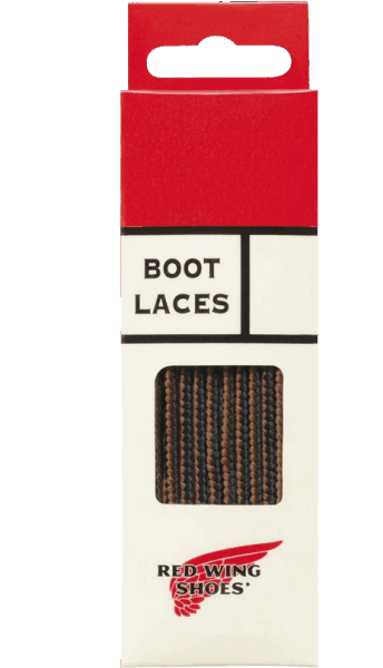 "Red Wing Lace Taslan 48"" black/brown"