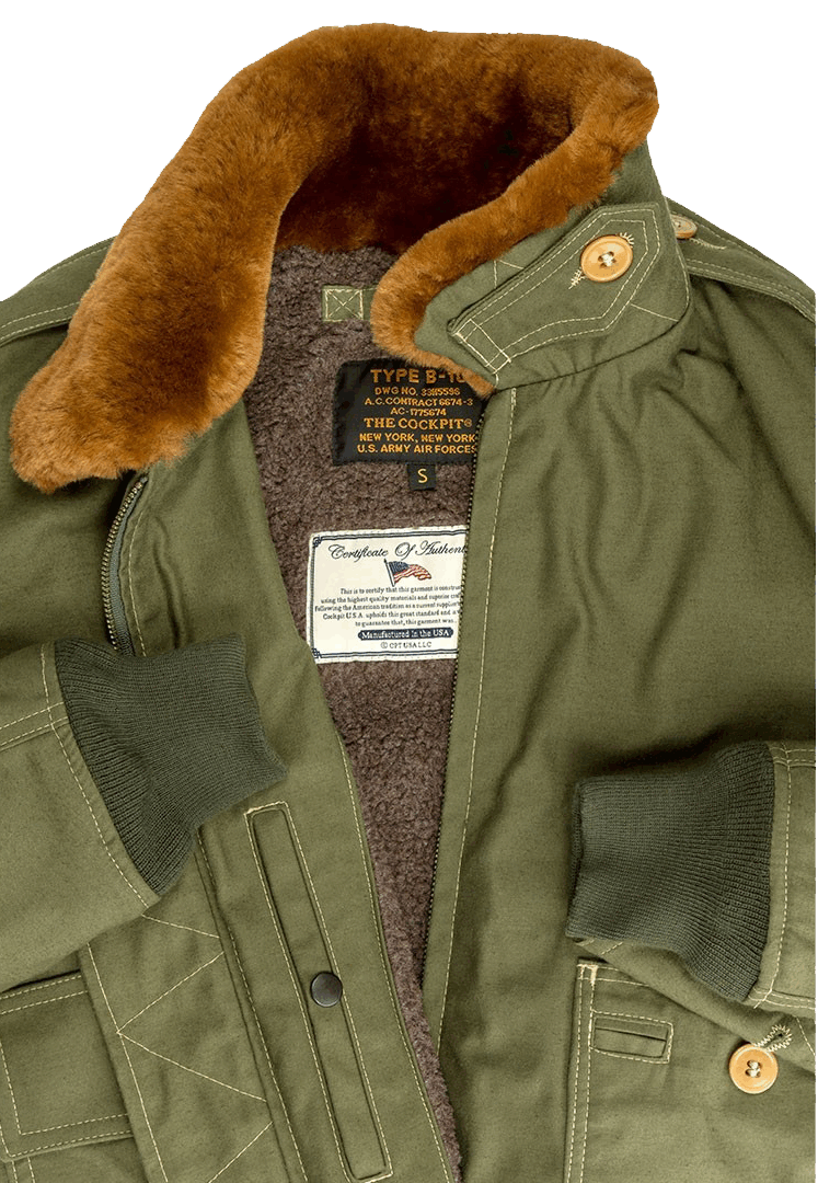 Cockpit B-10 Flight Jacket