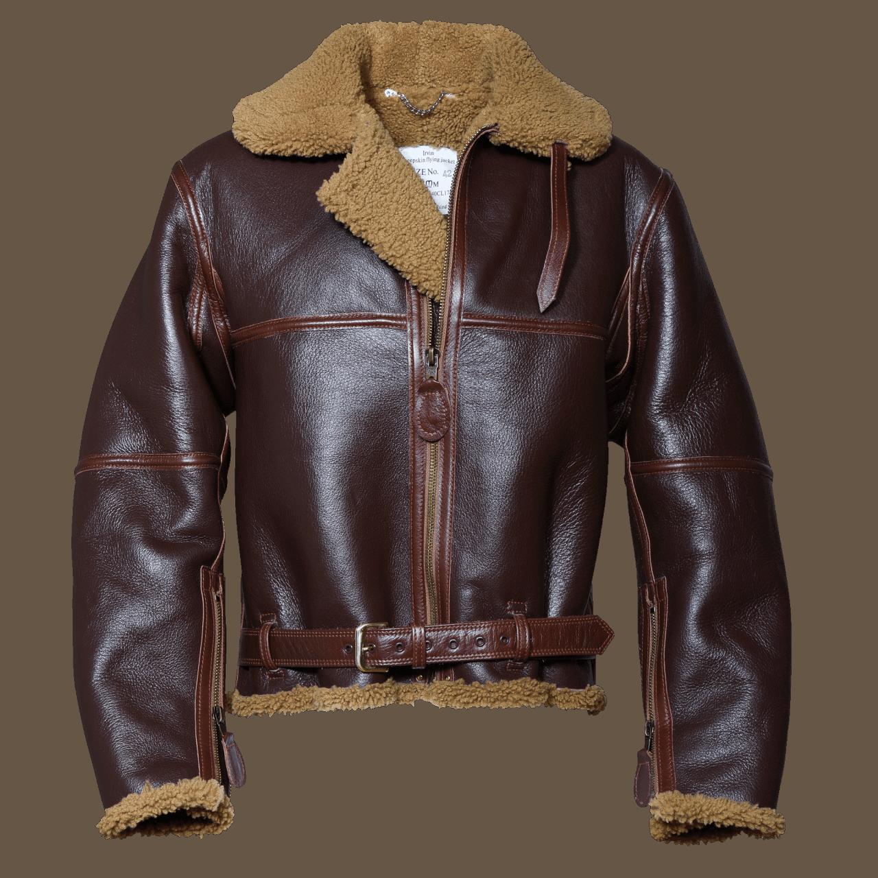 Aero Leather RAF Jacket Split Panel