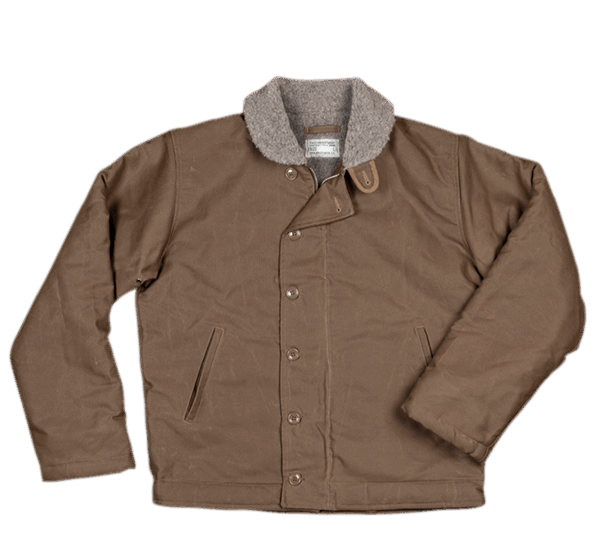 Pike Brothers 1944 N1-Deck Jacket waxed khaki