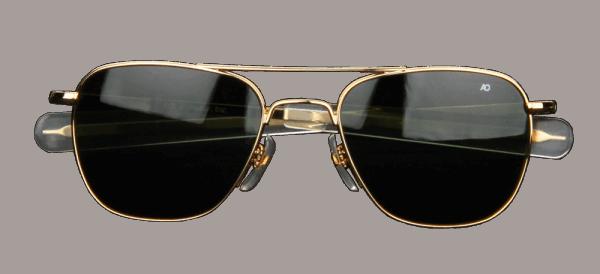AO Eyewear Original Pilot - gold - grün