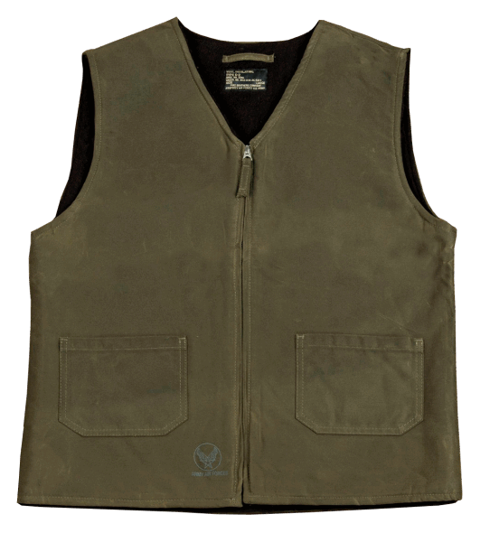 Pike Brothers 1942 C2 Vest Waxed Olive