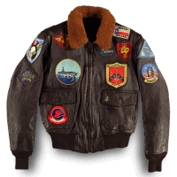 Cockpit G-1 Flight Jacket - TOP GUN