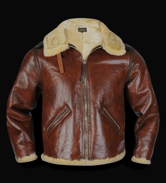 Aero Leather Type B-6 redskin
