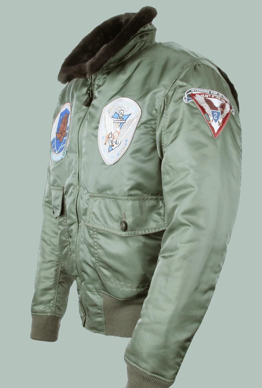 Cockpit G-1 Nylon mit Patches -sage