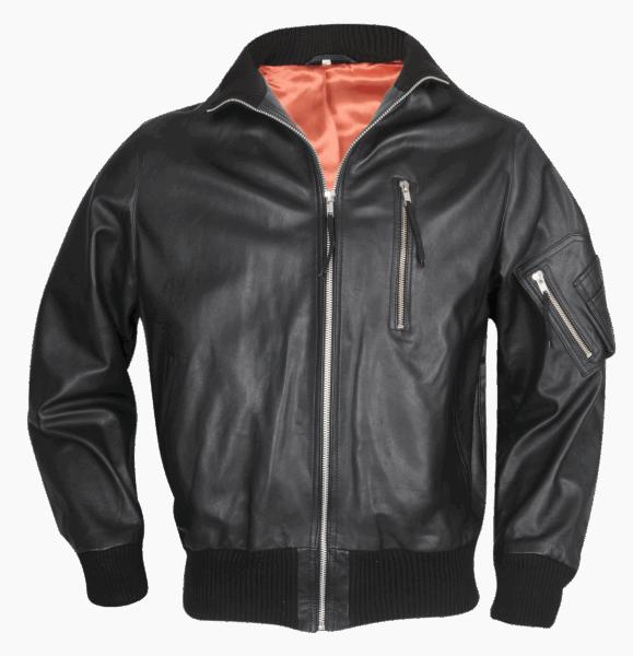 Modeka BW-Jacke, mit Schub, schwarz