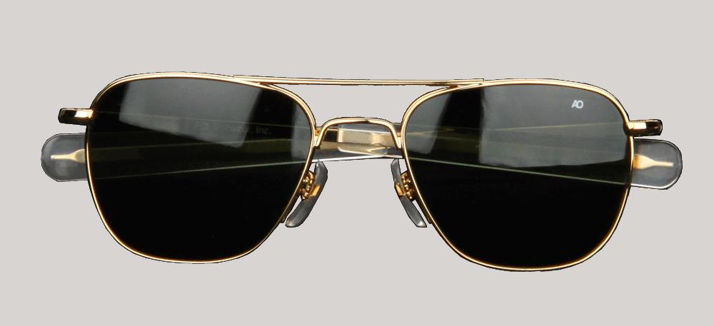 AOEyewear Original Pilot - gold - grün