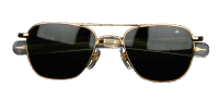 American Optical - Original-Pilot / gold-green
