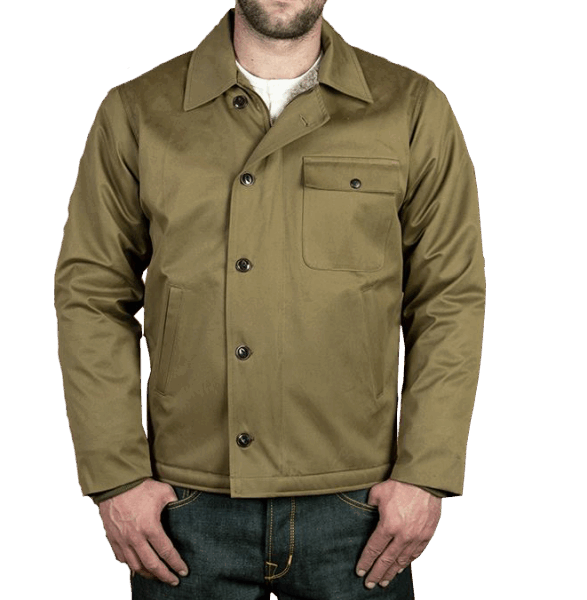 Pike Brothers 1962 A2-Deck Jacket - olive