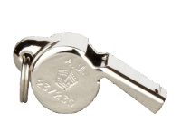 RAF - USAAF ESCAPE WHISTLE - silber