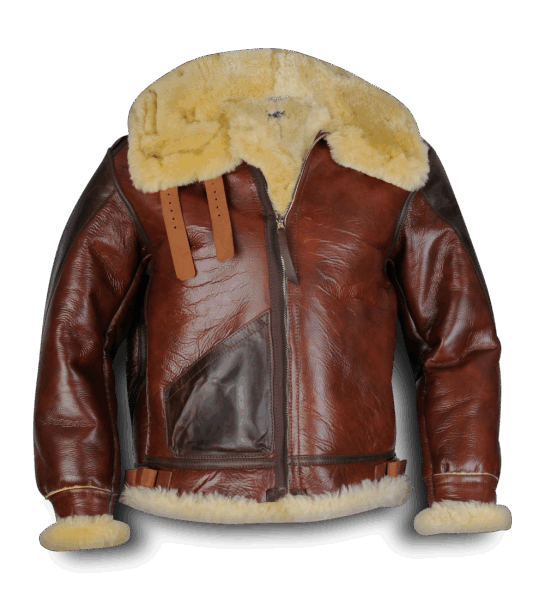 Aero Leather Type B-3 redskin